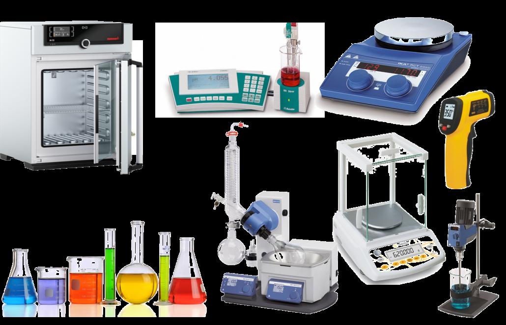تجهیزات و شیشه آلات آزمایشگاهی